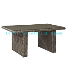 Outdoor Table K. D. Rattan Dining Table
