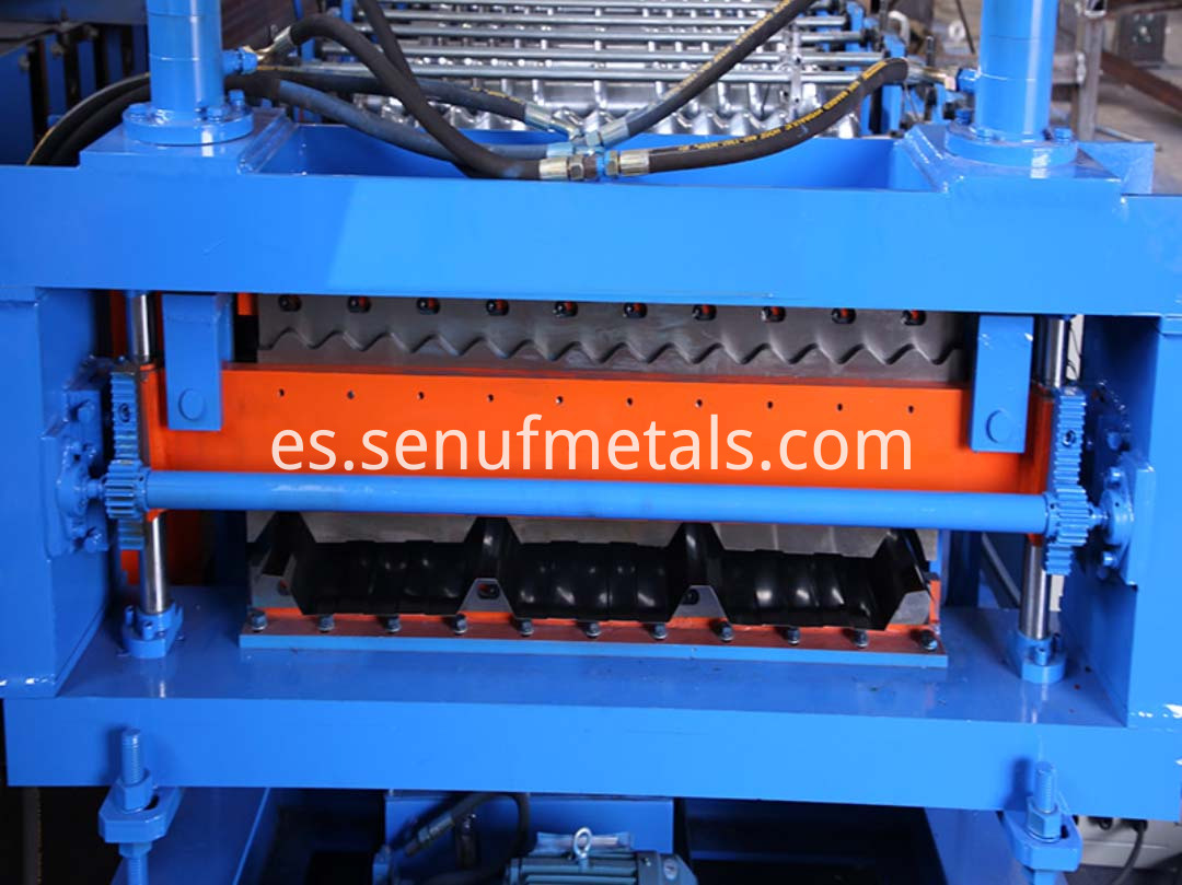 double layer forming machine(5)