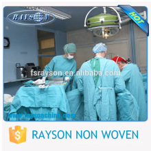 Medical Nonwoven Sterile Disposable Surgical Gown for Patient