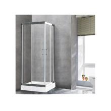 Complete Glass Shower Cabin Bathroom Equipments 2 Sided Shower Enclosure
