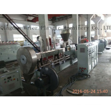 Parallel Twin Screw Extruder WPC Granule Making Machine
