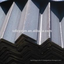 s235jr-s355jr laminé à chaud angle en acier égal