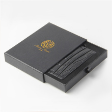 Rectangle Black Purse Packaging Box Drawer Box