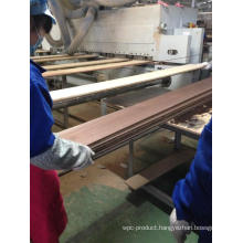 Processing Groove and Tongue Construction Oak Engineered Flooring