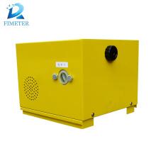 Mechanical oil filling fuel dispenser