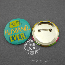 Custom Button with Different Logo on Tin Badge (HY-MKT-0017)