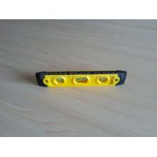 HD-TT15, mini nível de bolha de plástico com 3 frascos, nível de torpedo