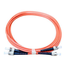 Ce / UL Zertifikat St to St Multi-Mode Optische Faser Jumper