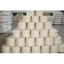NE 50/1 hilo de algodón gris para tejer