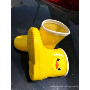 Дети дождя обувь ПВХ Rainboots, Детская обувь,