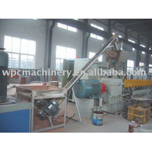 high output WPC granules making machine