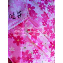 cheaper cvc 60/40 printed fabric for bedding set