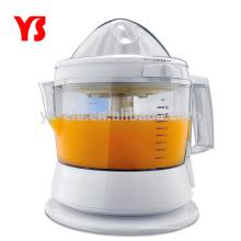 Jugo de naranja eléctrico de uso doméstico exprimiendo jugo automático
