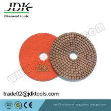 Jdk Hot Sale Diamond Flexible Dry/Wet Polishing Pads for Marble/Granite
