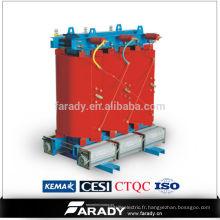 Transformateur électrique en résine coulée de type sec de 34.5kV
