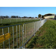 Hot-Dipped Galvanized Crowd Control Barrier with Great Popularity