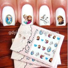 Autocollant de tatouage à ongles à la mode de style bricolage créatif