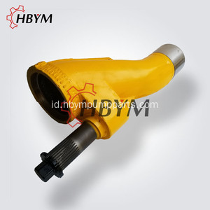 Durable Dn200 Sany Pompa Beton Bagian S Valve