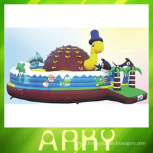 Hot Patrick star bouncy inflatable castle jumping castle inflatable bouncer