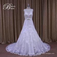 Видеть Сквозь V-Образным Вырезом-Line Свадебное Платье Стили