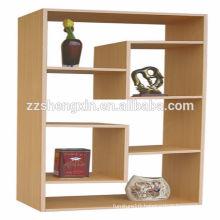Indoor Wooden Display Rack Home Display Stand Retail Store Wood Folding Shelf