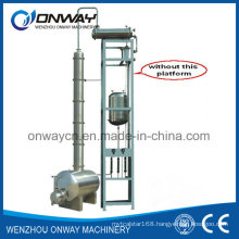 Jh Hihg Efficient Factory Price Stainless Steel Solvent Acetonitrile Ethanol Alcohol Distillery Equipments Destillation Tower Pilot