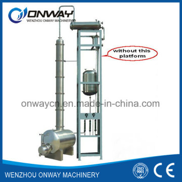 Jh Hihg Efficient Factory Price Stainless Steel Solvent Acetonitrile Ethanol Distillery Equipments Alcohol Whisky Distillery