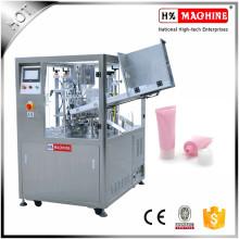 Máquina automática de sellado de llenado de tubos de ungüento con pasta cremosa