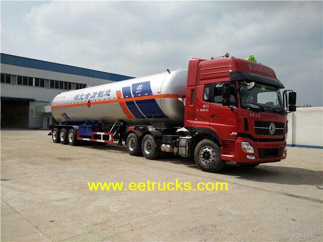 15,500 Gallon LPG Trailer Tankers