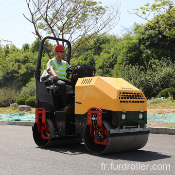 2 ton vibratory drum road roller compactor FYL-900