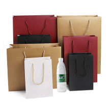 Promotion Luxury Customized Laminated Art Paper Bag For Shopping Wholesale Custom Printing Gift Paper Bag