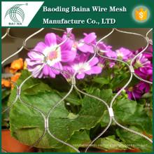Malla de alambre de alambre de acero inoxidable para flores de jardín
