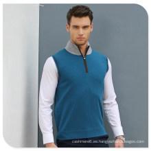 2017 chaleco del suéter del cachemira del nuevo hombre del estilo