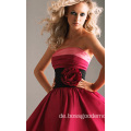 Vintage Red Concise Style Brautkleid