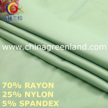 Rayon Nylon Spandex Fabric to Garment Textile (GLLML457)