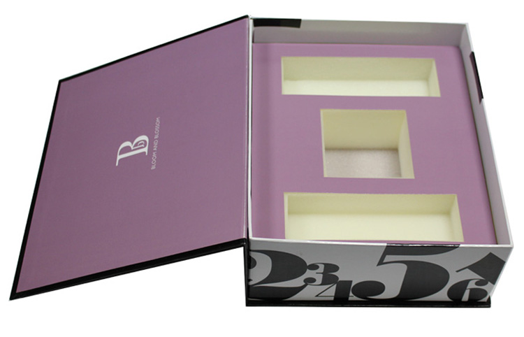 Custom paper cardboard beauty cosmetic box