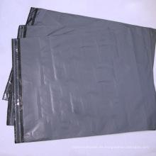 Bolsa de plástico gris polietileno personalizada
