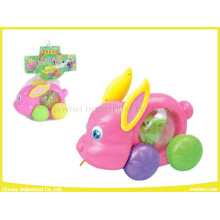 Plastic Cable Toys Rabbit Without Music