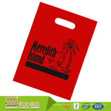 El logotipo personalizado de encargo del deber de alta calidad imprimió la bolsa plana plástica degradable del ldpe durable