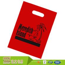 Le logo fait sur commande de haute qualité de devoir de heacy a imprimé le sac plat en plastique durable de ldpe dégradable