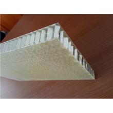 Paneles de nido de abeja de 25mm de superficie y aluminio