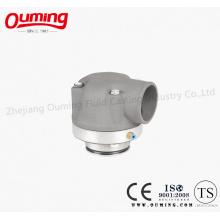 Проходной вентиль для алюминиевого трубопровода