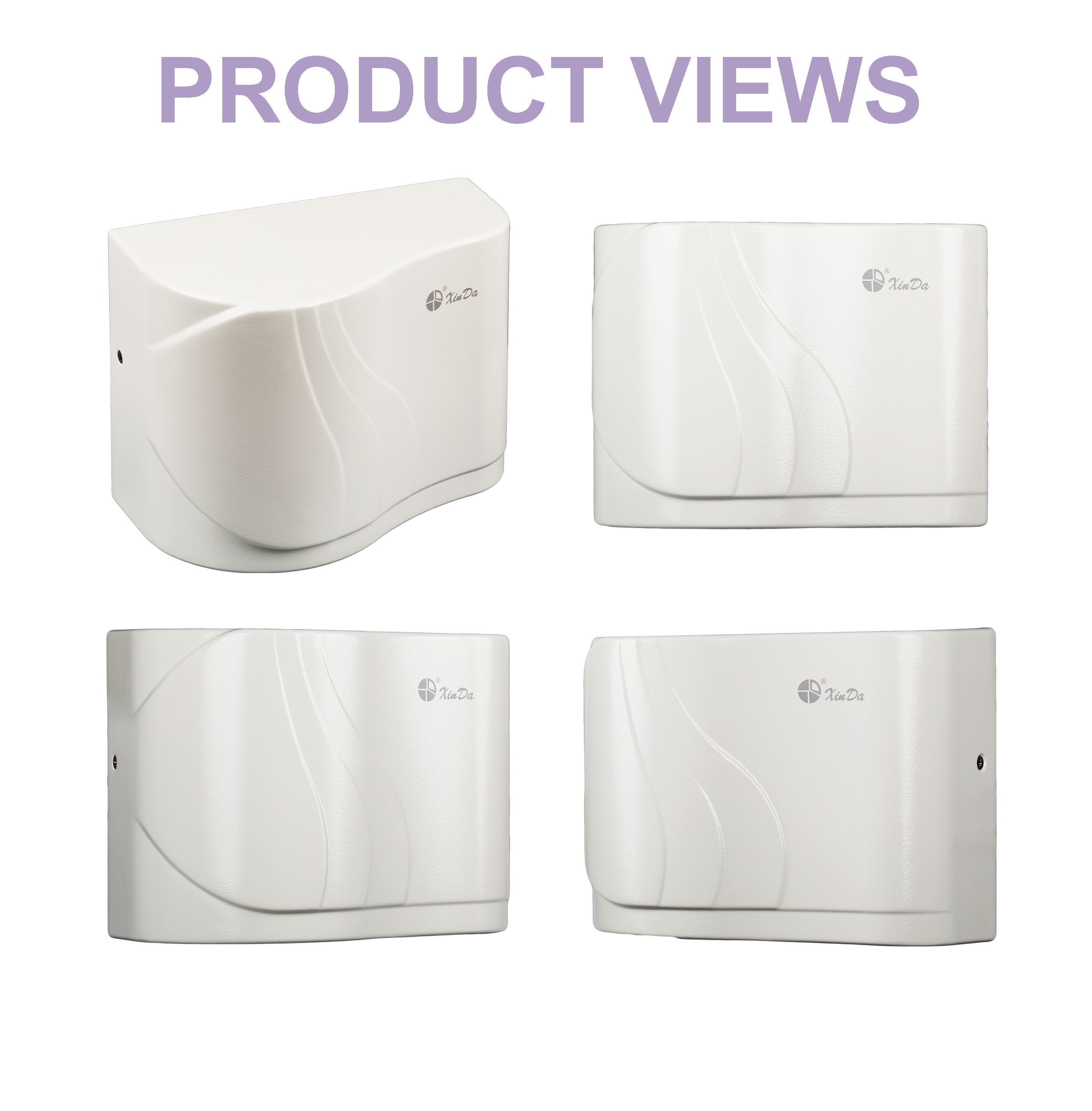 Hand dryer with disinfection function