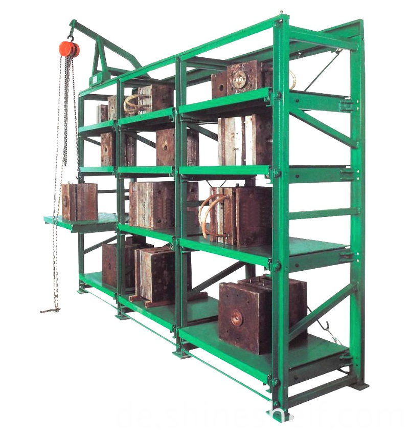 Standard Mold Storage Racks for Injection Molds