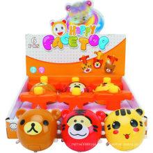 Plástico Brinquedos Educativos Brinquedos Music Flash Gyro Top