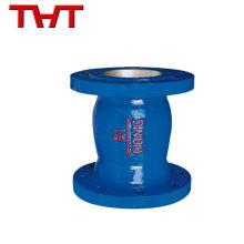 Energy-saving round hydraulic cast Iron slient type aluminum check valve