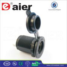Enchufe de toma de corriente impermeable de Daier 12V para el remolque del coche / Jeep / RV / el barco