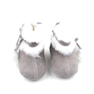 Baby Snow Leather Boots Kerst Boots