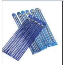 Stainless Hand Knitting Needles with Cap