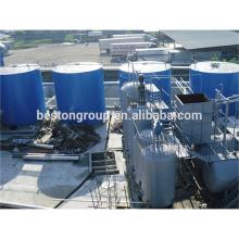 Equipamento de desidratação de óleo de pneu de equipamento de destilação não poluente